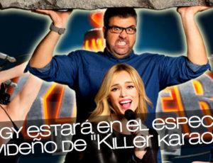 """Angy estará en el especial navideño de """"Killer karaoke"""""""