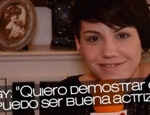 """Angy: """"Quiero demostrar que puedo ser buena actriz"""""""