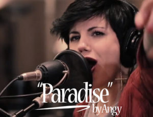"Cover ""Paradise"" by Angy de Coldplay"