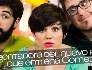 """Angy presentadora del nuevo programa """"Yutubers"""", que entrena Comedy Central"""