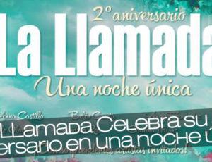 Angy, La LLamada Celebra su segundo aniversario en una noche única