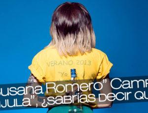 """""""Nueva Susana Romero"""" Campamento """"La Brújula"""", ¿sabrías decir quién es?"""