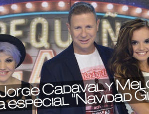 """Angy, Jorge Cadaval y Melody en la gala especial """"Navidad Gigante"""""""