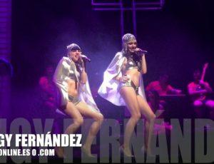 Apoteósico estreno de Angy en el musical LaLlamada