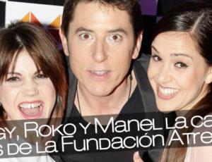 Angy, Roko y Manel las caras visibles de la Fundación Atresmedia