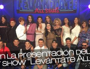 """Angy en la presentación del nuevo talent show """"Levántate All Stars"""""""