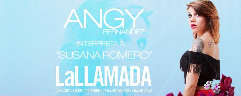 Angy interpreta a Susana Romero en La llamada 2016 1