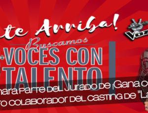 """Angy formará parte del Jurado de ¡Gana con tu Voz! Evento colaborador del casting de """"La Voz"""""""