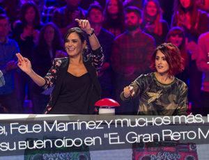 """Angy, Barei, Fele Martínez y muchos más, pondrán a prueba su buen oído en """"El Gran Reto Musical"""""""